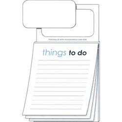 Custom printed magnetic notepads custom notepads things to do business card magnet notepad colourmoves